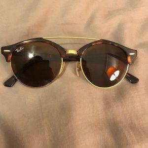RayBan sunglasses - Clubround Double Bridge,